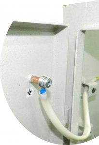 шкаф электрический вентилируемый - заземление